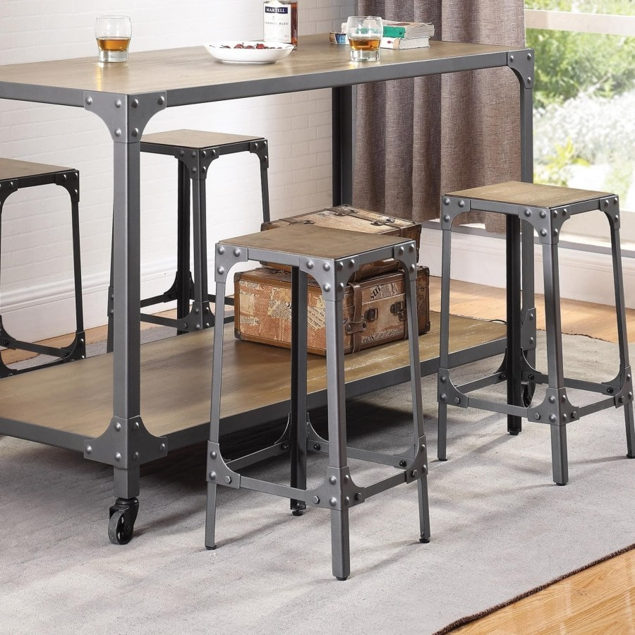 Remarkable Dining Chairs And Bar Stools Rustic Bar Stool Dailytribune Chair Design For Home Dailytribuneorg