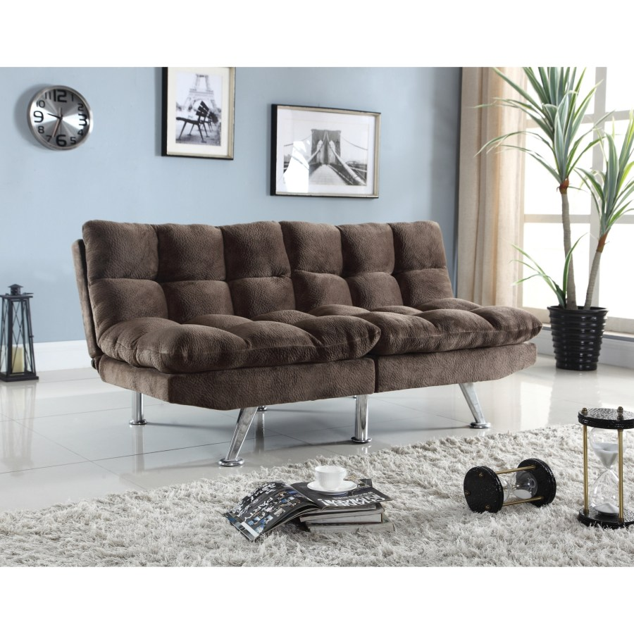 Futons Plush Sofa Bed With Padded