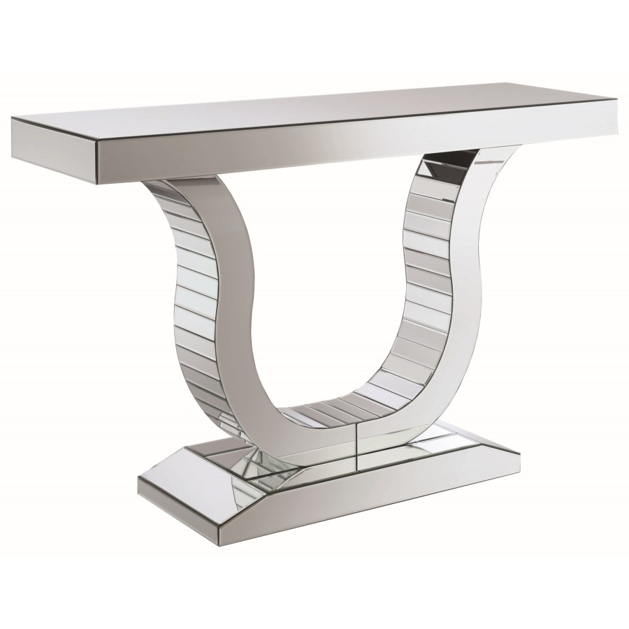 - Accent Tables Glam Mirrored Console Table – Omni Furniture Gallery